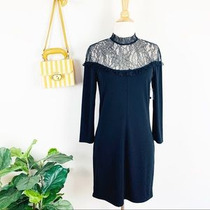 NEW Free People long sleeve lace dress